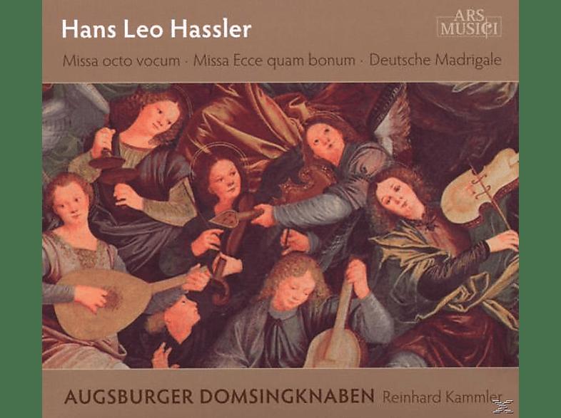 Augsburger Domsingknaben/Kammler, Reinhard Augsburger Domsingknaben & Kammler - Messen/Deutsche Madrigale [CD]