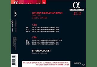 Bruno Cocset - Cellosuiten  - (CD)