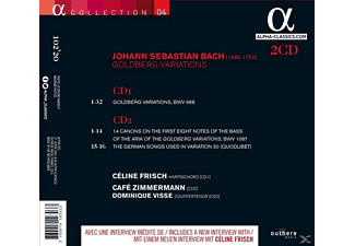 Céline Frisch Café Zimmermann - Goldberg-Variationen/14 Kanons  - (CD)