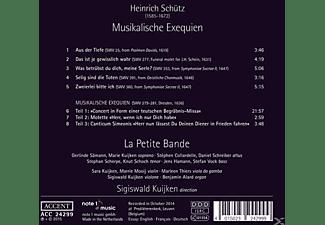 Marie Kuijken & La Petite Bande - Musikalische Exequien  - (CD)