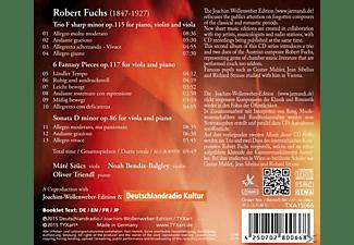 Olvier Triendl, Noah Bendix-Balgley, Mate Szucs - Klaviertrios & Klavierduos  - (CD)