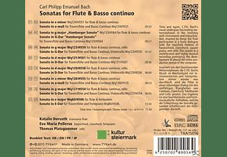 Katalin Horvath, Eva Maria Pollerus, Thomas Platzgummer - Sonaten Für Flöte Und B.C.  - (CD)