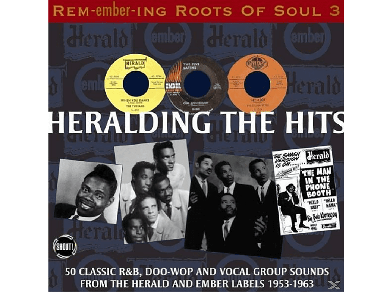 VARIOUS - Remembering Roots Of Soul [CD]