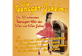 VARIOUS - Die Teenager-Jukebox-50 Hits Der 50er/60er Jahre - (CD)