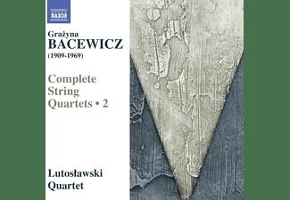 Lutoslawski Quartet - Streichquartette 4, 2, 5  - (CD)