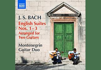 Montenegrin Guitar Duo - Englische Suiten 1-3 (Arr.Für 2 Gitarren)  - (CD)