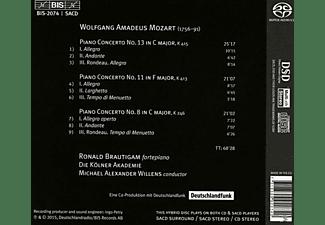 Ronald Brautigam, Kölner Akademie - Sämtliche Klavierkonzerte Vol.9  - (SACD)