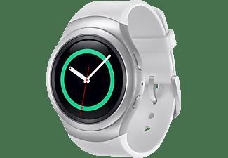 SAMSUNG Gear S2 Smart Watch Kunststoff, 160-195 mm, Weiß/Silber