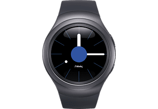 SAMSUNG Gear S2 Smart Watch, 160-195 mm, Schwarz/Anthrazit