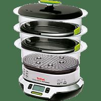 TEFAL VS4003 VitaCuisine Compact Dampfgarer (1800 Watt, Schwarz/Chrom)