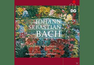 Bassoon Consort Frankfurt - Goldberg Variationen Arr.Für 9 Fagotte Von Rabien  - (SACD Hybrid)