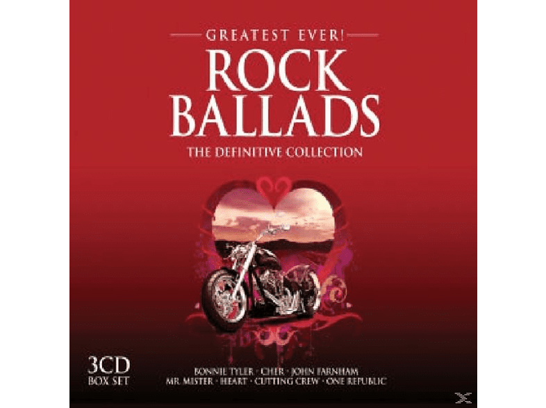 VARIOUS - Rock Ballads Greatest Ever [CD]