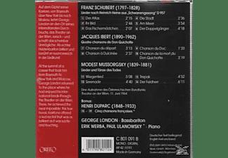 Erik Werba, George London, Paul Ulanowsky - George London  - (CD)