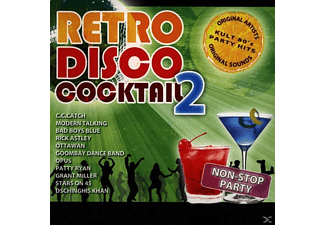 VARIOUS - Retro Disco Cocktail - Vol.2 - (CD)