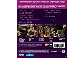 Fischer Julia/Zinman - Bbc Proms 2014  - (Blu-ray)