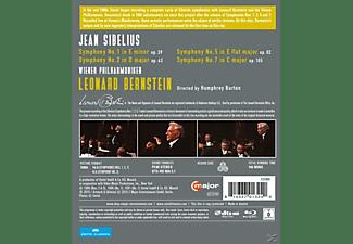 Leonard Bernstein, Wiener Philharmoniker - Sinfonien 1, 2, 5, 7  - (Blu-ray)
