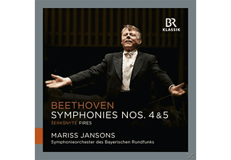 Symphonieorchester Des Bayerischen Rundfunks - Sinfonie 4 & 5  - (CD)