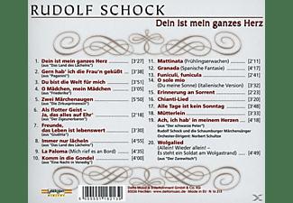 Rudolf Schock - Dein Ist Mein Ganzes Herz  - (CD)