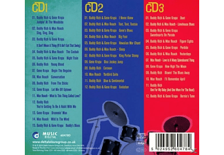 Buddy Rich, Gene Krupa, Max Roach - Let There Be Drums  - (CD)