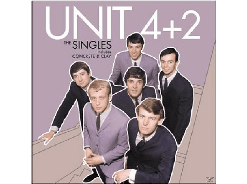 Unit 4+2 - Singles: A's & B's [CD]