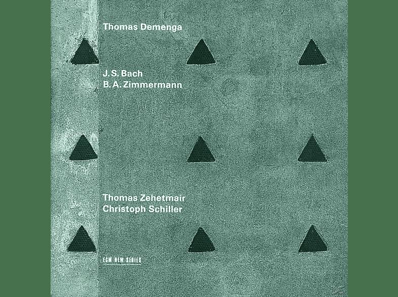 DEMENGA,THOMAS & SCHILLER,CHRISTOPH - Thomas Demenga Plays Bach & Zimmerman [CD]