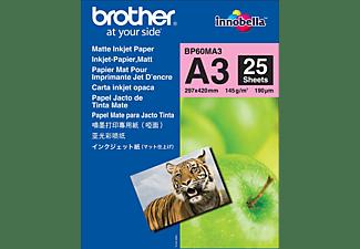 BROTHER BP 60 MA 3 Fotopapier A3 1x Brother BP 60 M3, Fotopapier 29.7 x 42