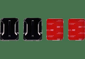 DIGI GO digiGO Klebehalterung 4 teiliges Klebeset GOPRO Mount, Helmklebeset, Schwarz, passend für alle GOPRO Kameras