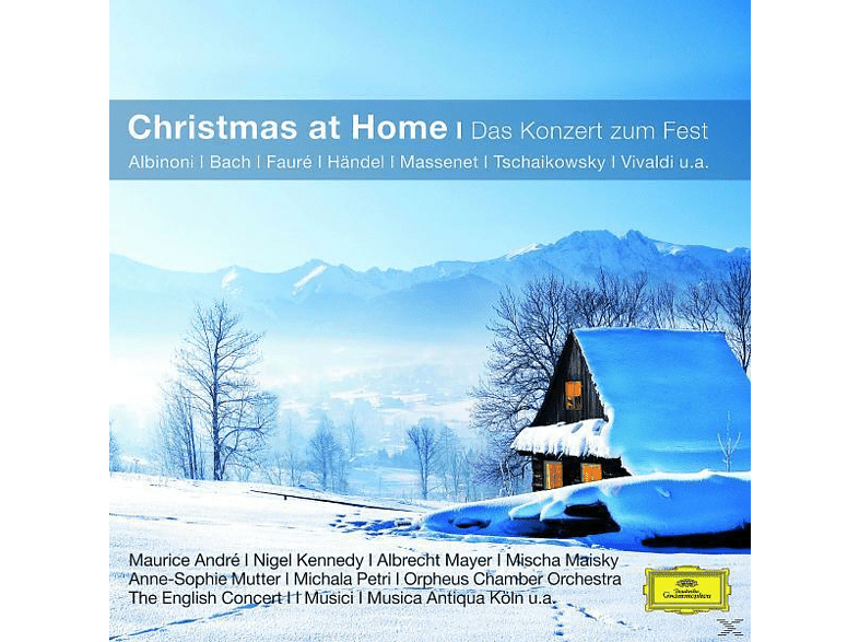 Andre/Maisky/Mutter/Ec/Eco/BP/WP/+ - Christmas At Home-Das Konzert Zum Fest (Cc) [CD]