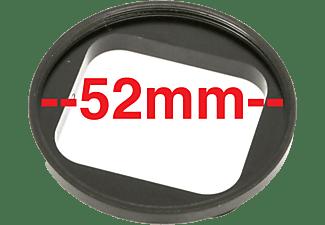DIGI GO digiGO 52 mm Filteradapterring auf GOPRO im Standartgehäuse M40, Filteradapter, Filterdurchmesser: 52 mm, Schwarz, passend für GoPro Actioncams