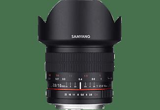 SAMYANG 1120403101 - 10 mm f/2.8 für Nikon F-Mount, Schwarz)