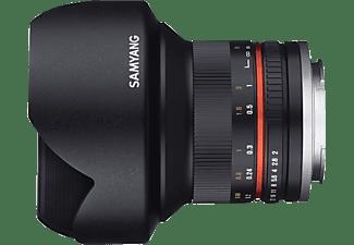 SAMYANG MF 12mm F2.0 APS-C  - 12 mm f/2 für Fuji X-Mount, Schwarz)