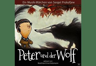 Gelesen Von Matthias Holzmann - Peter und der Wolf  - (CD)