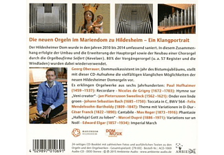 Georg Oberauer - Die Orgeln im Mariendom zu Hildesheim  - (CD)