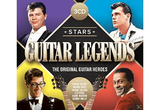 VARIOUS - Stars-Guitar Heroes  - (CD)