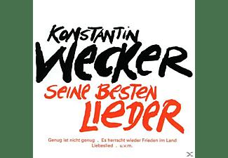 Konstantin Wecker - SEINE BESTEN LIEDER  - (CD)