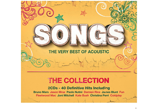 VARIOUS - Songs - The Very Best Of Acoustic -The Collection  - (CD)
