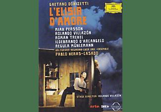 Netrebko,Anna/Villazon,Rolando/+ - L'elisir D'amore  - (Blu-ray)
