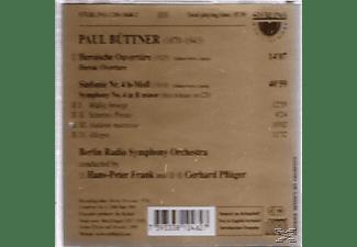 FRANK,HANS PETER & PFLUGER,GERHARD, Buttner - Buttner Sinf.4  - (CD)