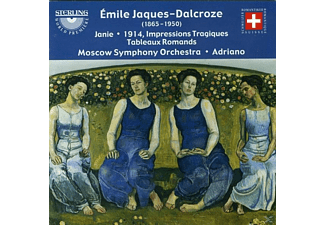 Sergei  Rayabov, Moscow Symphony Orchestra, Moscow Cappella - Jaques-Dalcroze Orchesterwerke  - (CD)