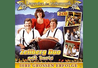 Zellberg Duo Mit Doris - Legenden Der Volksmusik-Ihre Großen Erfolge  - (CD)