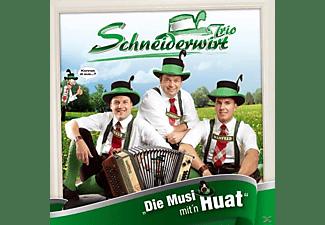 Schneiderwirt Trio - Die Musi Mit'n Huat  - (CD)
