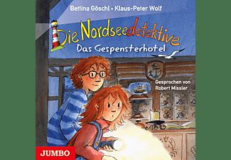 Wolf, Klaus-Peter/Göschl, Bettina - Die Nordseedetektive - Das Gespensterhotel  - (CD)