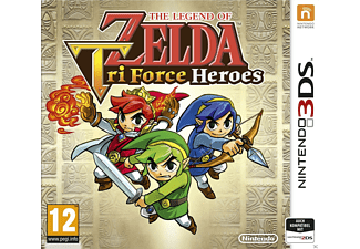 The Legend of Zelda: Tri Force Heroes NL 3DS