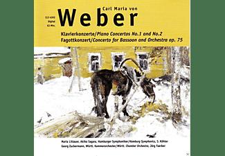 VARIOUS - Klavierkonzerte No. 1 & 2 / Fagottkonzert Op. 75  - (CD)