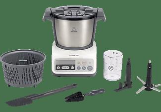 Robot de cocina - Kenwood CCC200WH KCOOK Potencia 800W, Panel de control, Múltiples accesorios