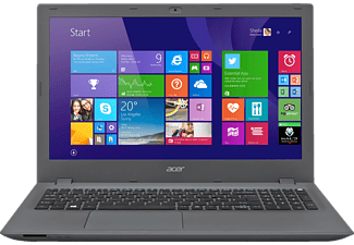 ACER Aspire E 15 (E5-573G-590F), Notebook mit 15,6 Zoll Display, Core i5 Prozessor, 8 GB RAM HDD, GeForce 940M, Schwarz, Grau
