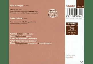 LEHTO: CELLO, SIGFRIDSSON: PIANO, T - Zeitgenössische Konzerte  - (SACD Hybrid)