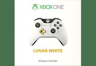 MICROSOFT Xbox One Wireless Controller Lunar White, Gamepad, Lunar White