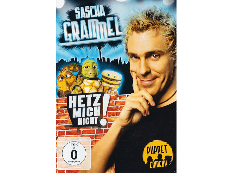 Sascha Grammel - Hetz mich nicht - Die kürzer gehts nicht Version [DVD]