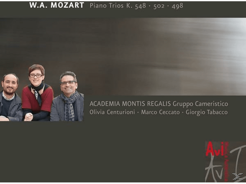 Academia Montis Regalis Gruppo Cameristico - Klaviertrios K.548 / 502 / 498 [CD]